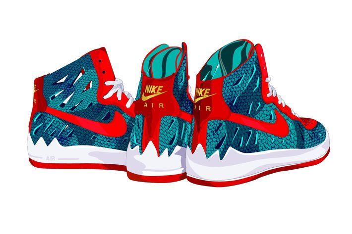 """""""Nike x <em>Jurassic Park</em>."""""""