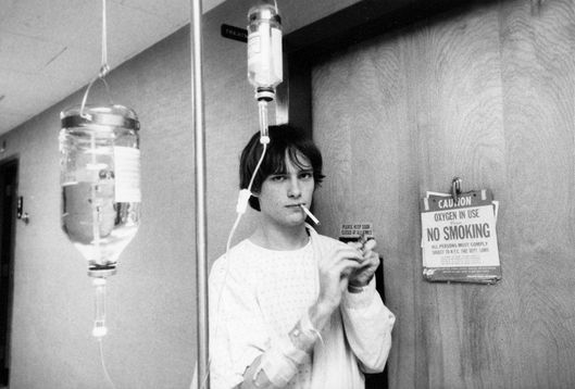 Richard Lloyd, Hospital, NYC 1977Roll #534/2