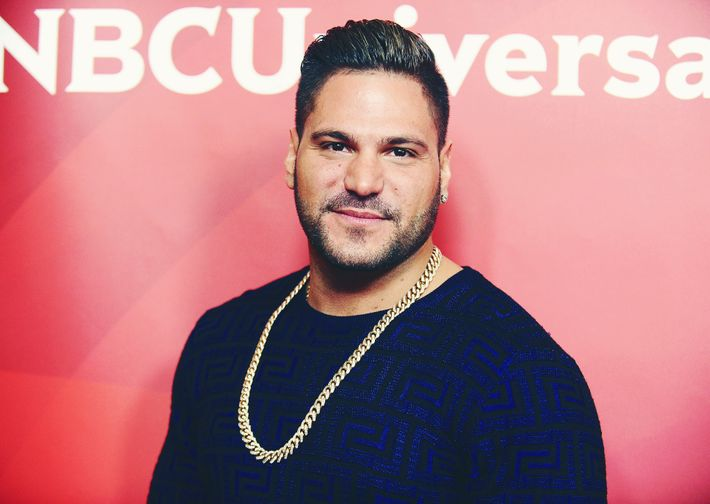 Caught prior to now. Now that Ronnie Ortiz-Magro ...