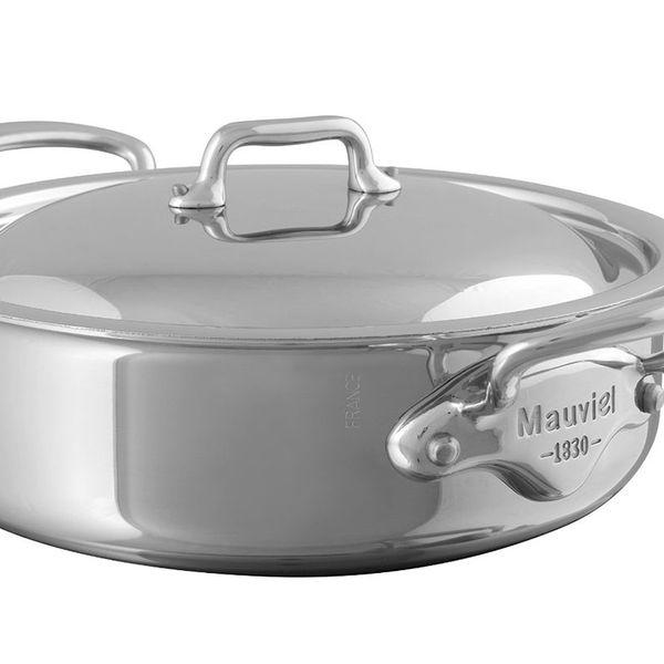 Mauviel 5.8 Quart Steel Rondeau