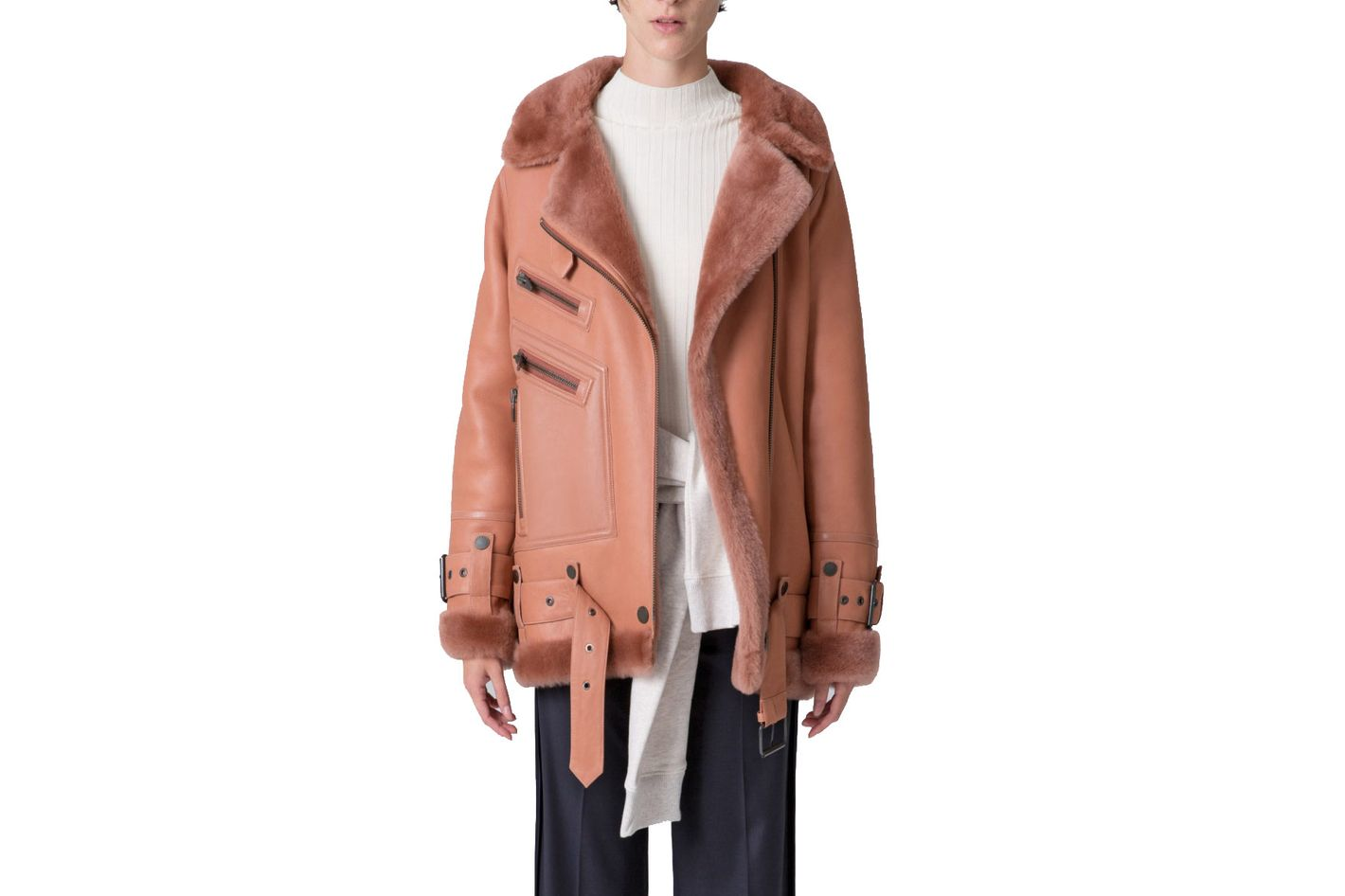 Moya III LMTD Shearling Jacket
