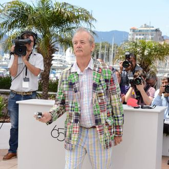 Actor Bill Murray poses at the