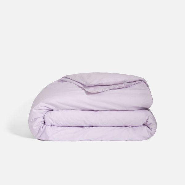 Brooklinen Luxe Duvet Cover, Full/Queen, Lilac
