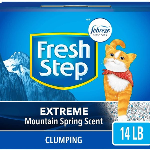 Fresh Step Extreme Scented Litter with Febreze