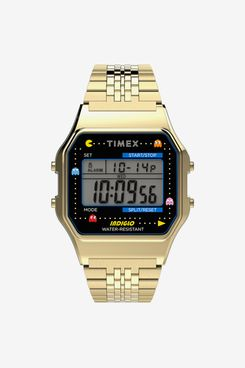 Timex T80 x PAC-MAN 34mm Stainless Steel Bracelet Watch