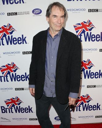 LOS ANGELES, CA - APRIL 23: Actor Timothy Dalton attends the launch of the Seventh Annual Britweek Festival