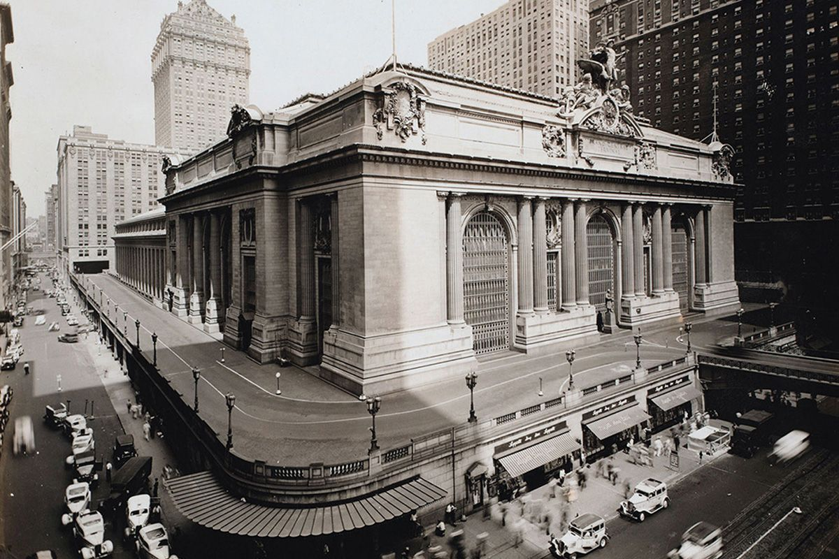 "<span class=""clay-designed kiln-phrase"">ca. 1935</span>Grand Central Terminal, which first opened in 1913."