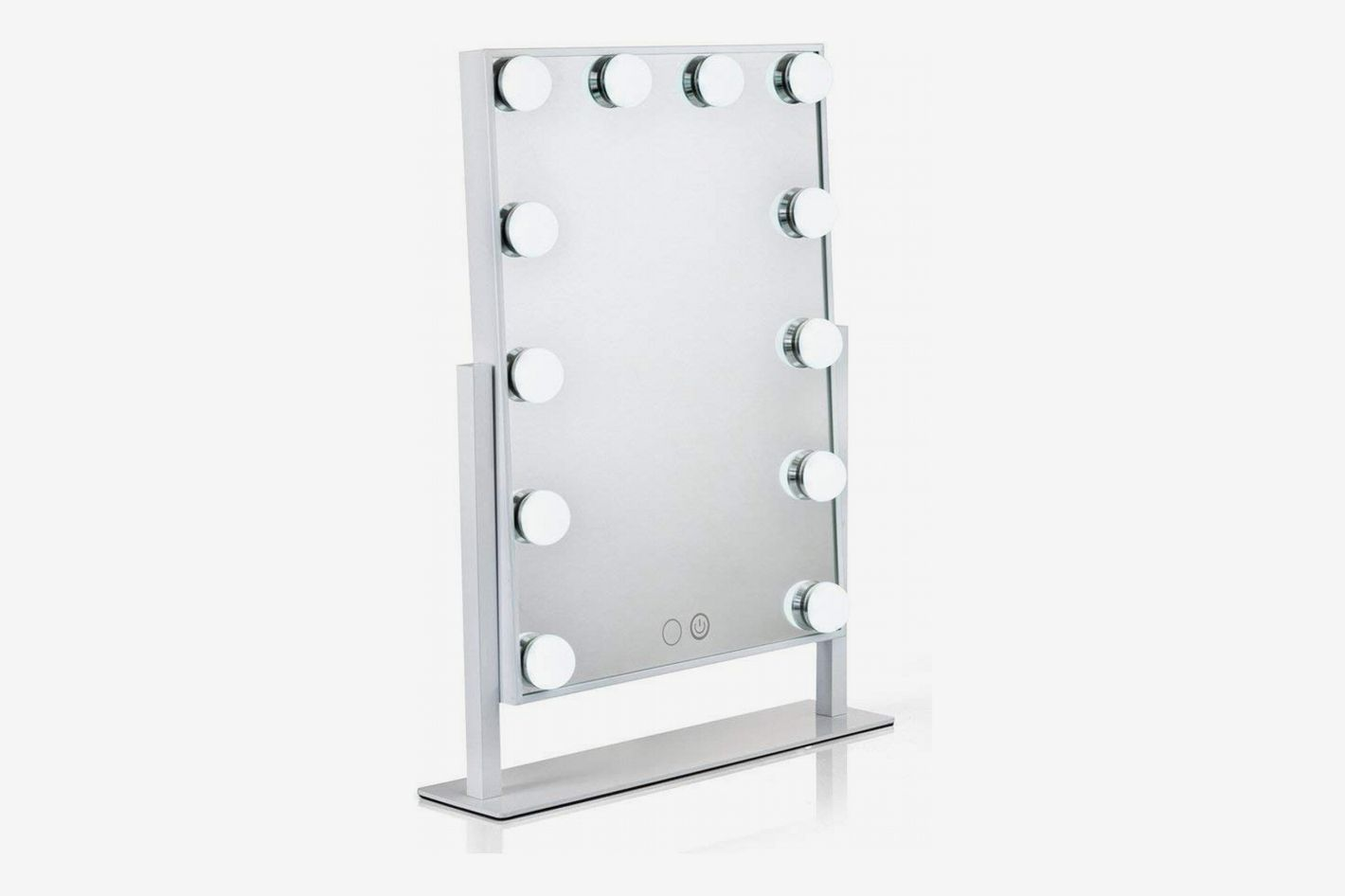 Waneway Lighted Vanity Mirror with 12 x 3W Dimmable LED Bulbs and Touch Control Design
