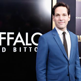 NEW YORK, NY - DECEMBER 15: Actor Paul Rudd attends the Anchorman 2: The Legend Continues Premiere, Sponsored by Buffalo David Bitton on December 15, 2013 in New York City. (Photo by Cindy Ord/Getty Images for Buffalo David Bitton)