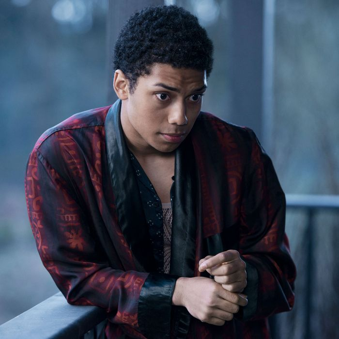 Chance Perdomo as Ambrose Spellman on