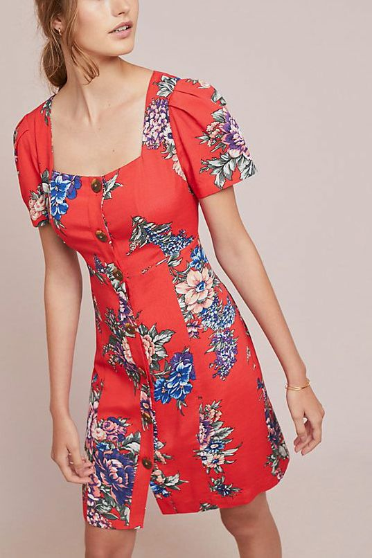 Caldwell Buttondown Dress