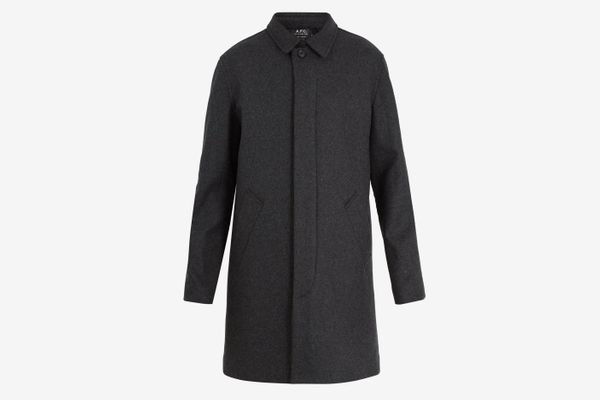 A.P.C. Mac New England Wool-Blend Coat