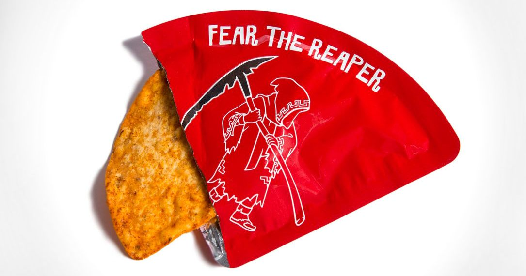The World's Spiciest Potato Chip Is So Brutal There's Only One Per Package
