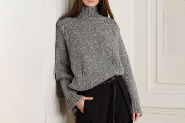 By Malene Birger Aleya oversized alpaca-blend turtleneck sweater