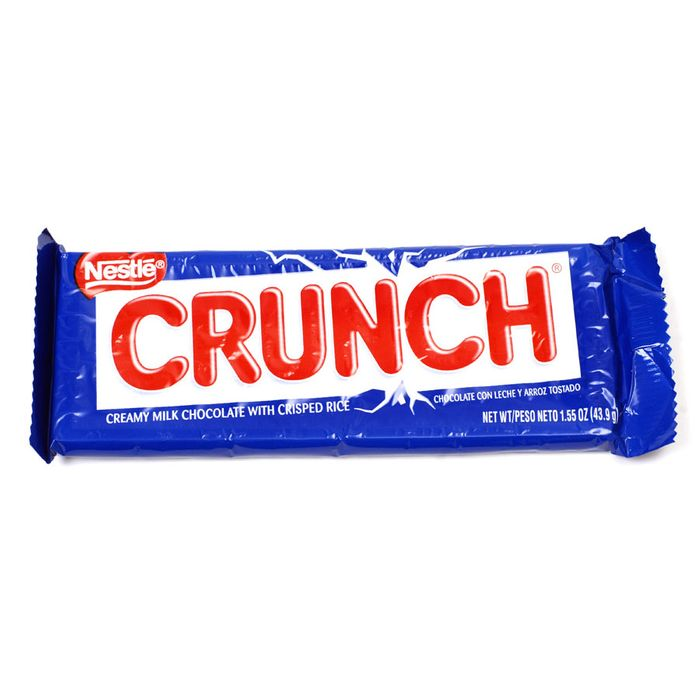 Only inorganic ingredients can create that crunch.