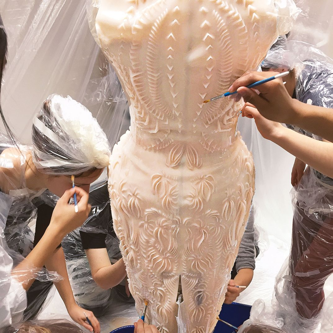 The Designer Who Mixes Cutting Edge Technology With Couture Tradition