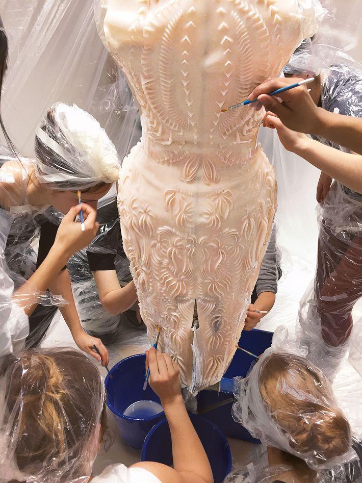Iris van Herpen's fall 2013 couture dress.