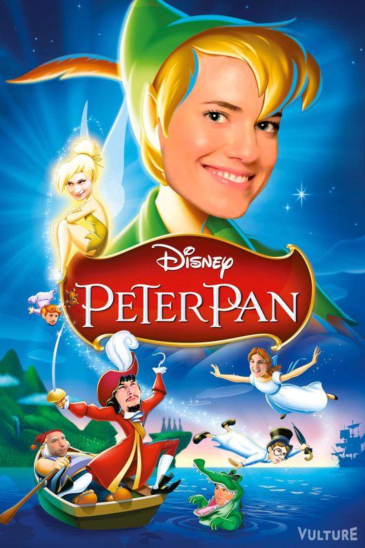 Peter pan 2014 cast