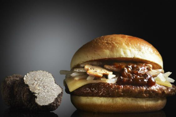 Truffle burgers for everyone.
