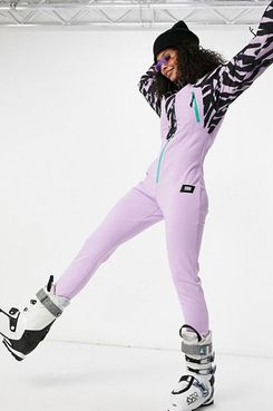 ASOS 4505 80s Printed Ski Suit