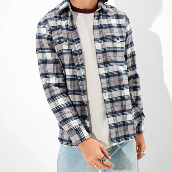 American Eagle Super Soft Flannel Shirt