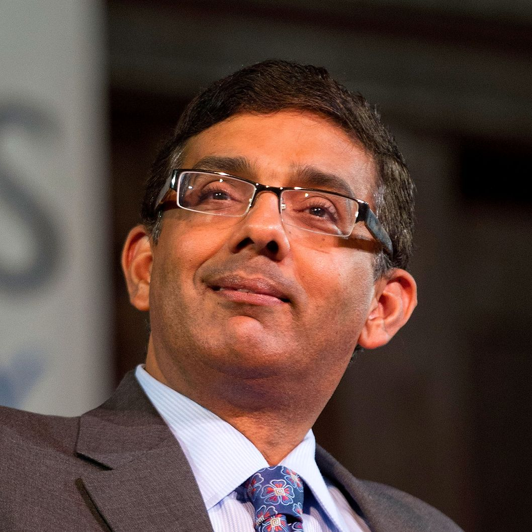 "Author Dinesh D'Souza attends the ""Socrates In The City"" debate reception at the New York Society for Ethical Culture on March 5, 2012 in New York City."