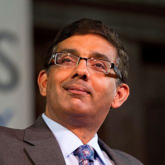 Author Dinesh D'Souza attends the