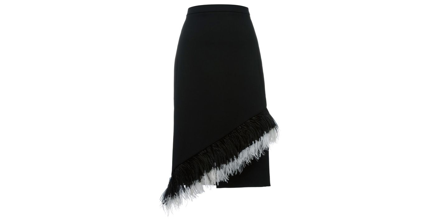 Christopher Kane Feather Skirt