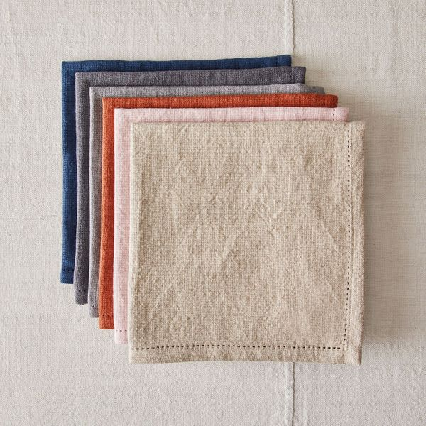 Five Two Everyday Soft Cotton Napkins, Set of 4
