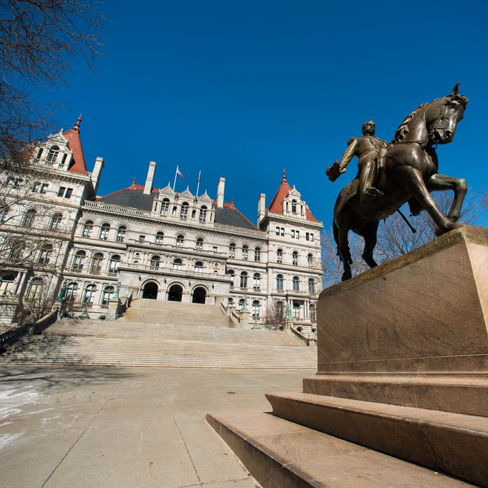 Views Of New York State's Capital City