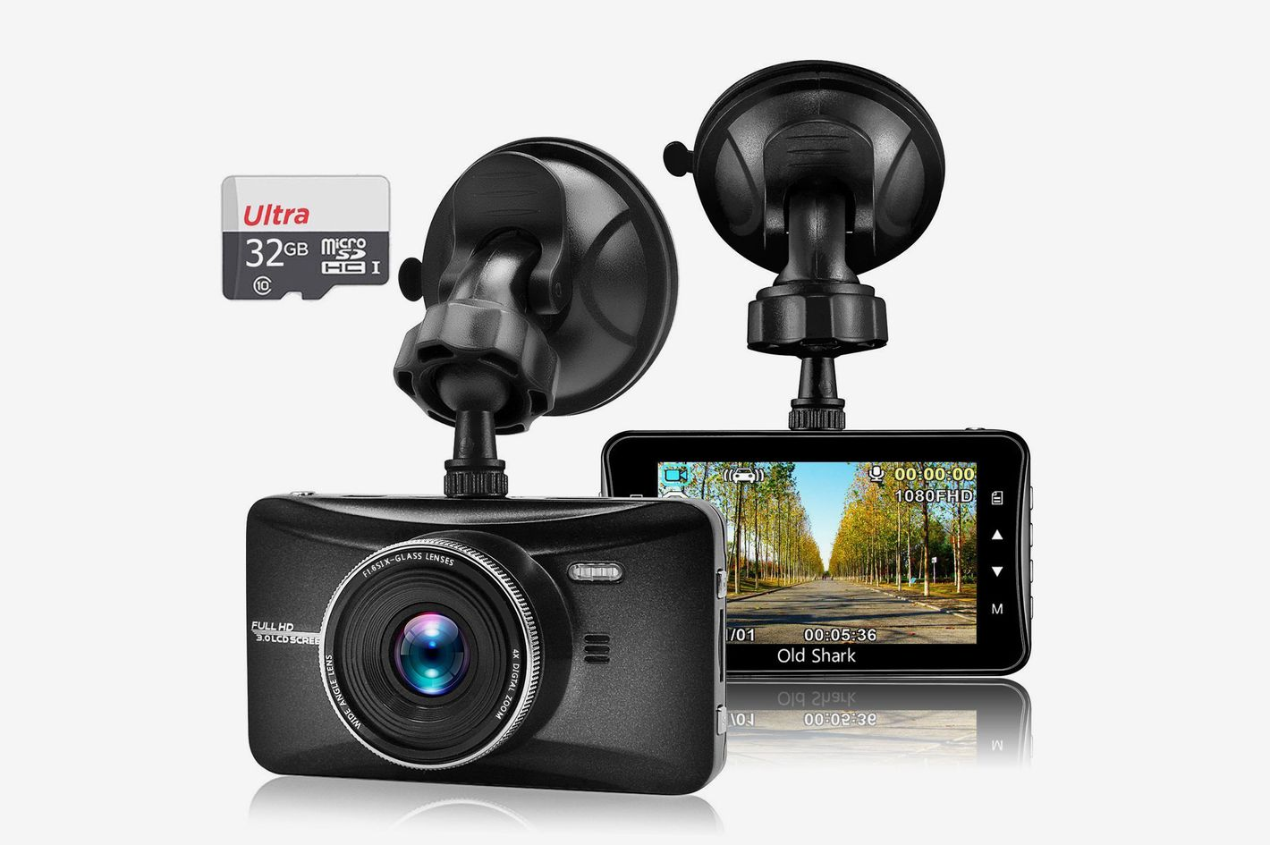 oldshark car video camera dash cam