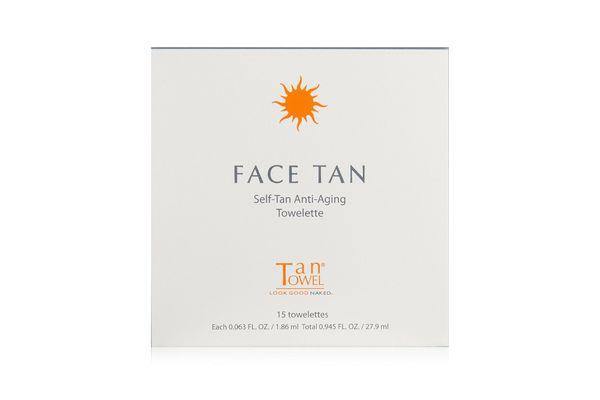 Tan Towel Face Tan