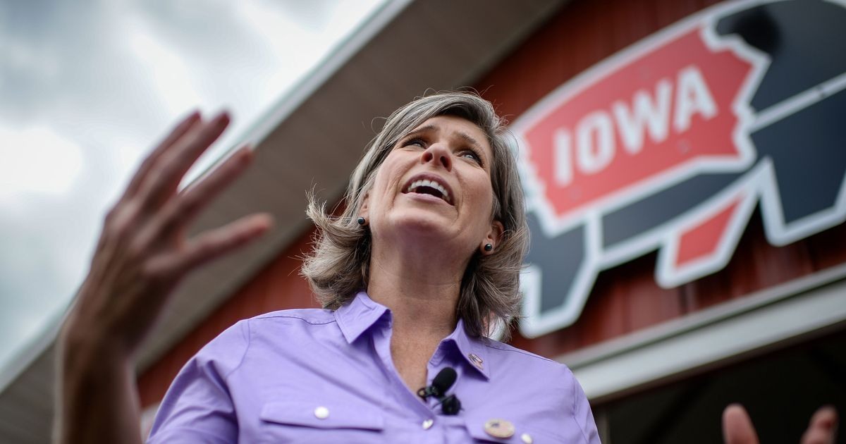 No, Joni Ernst, Iowans Don't Need the Electoral College to Influence Presidential Elections