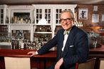 Bloomberg's Tom Keene Eats Breakfast on Live Radio, Is Very Specific About His Cocktails