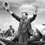 Candidate Wendell Willkie