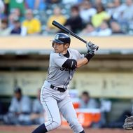 OAKLAND, CA - JULY 07:  Ichiro Suzuki #51 of the Seattle Mariners bats against the Oakland Athletics at O.co Coliseum on July 7, 2012 in Oakland, California.  (Photo by Ezra Shaw/Getty Images) *** Local Caption *** Ichiro Suzuki