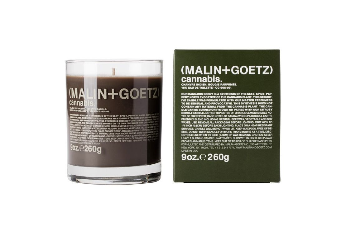 MALIN and GOETZ Cannabis Votive Candle