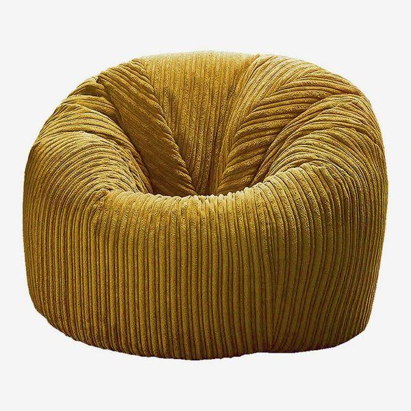 Plush Jumbo Cord Beanbag Chair