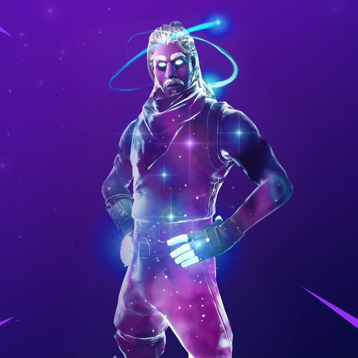 A new 'Fornite' skin available only to Galaxy users.