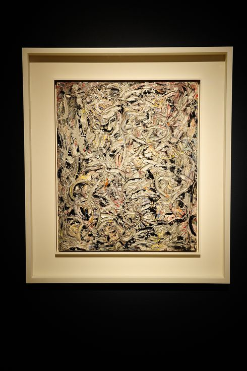"""Eyes in the Heat II"" by Jackson Pollock"