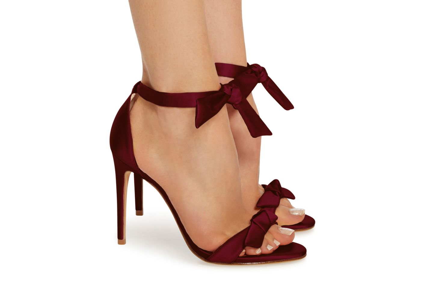 Alexandre Birman M'O Exclusive Clarita Satin Sandals