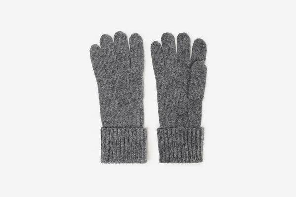 N.Peal Mélange Cashmere Gloves