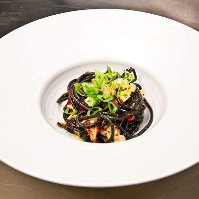 Wells says order Piora's pasta.