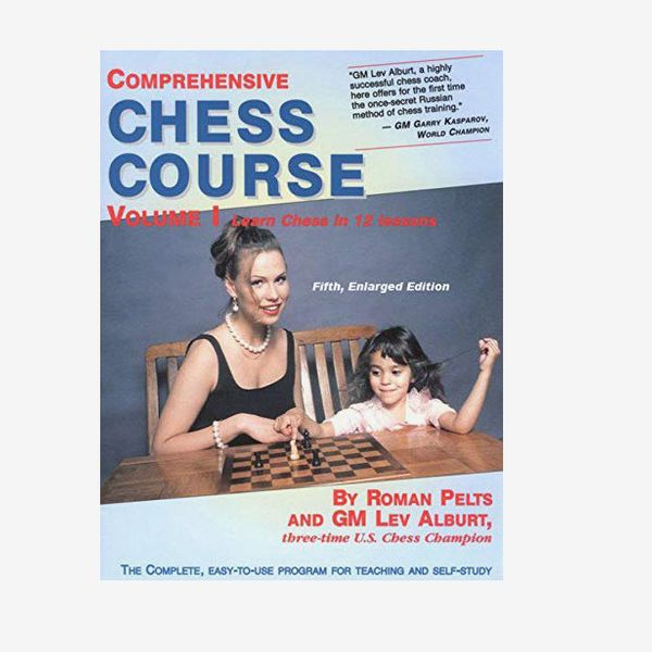 'Comprehensive Chess Course, Vol. 1: Learn Chess in 12 Lessons,' by Lev Alburt