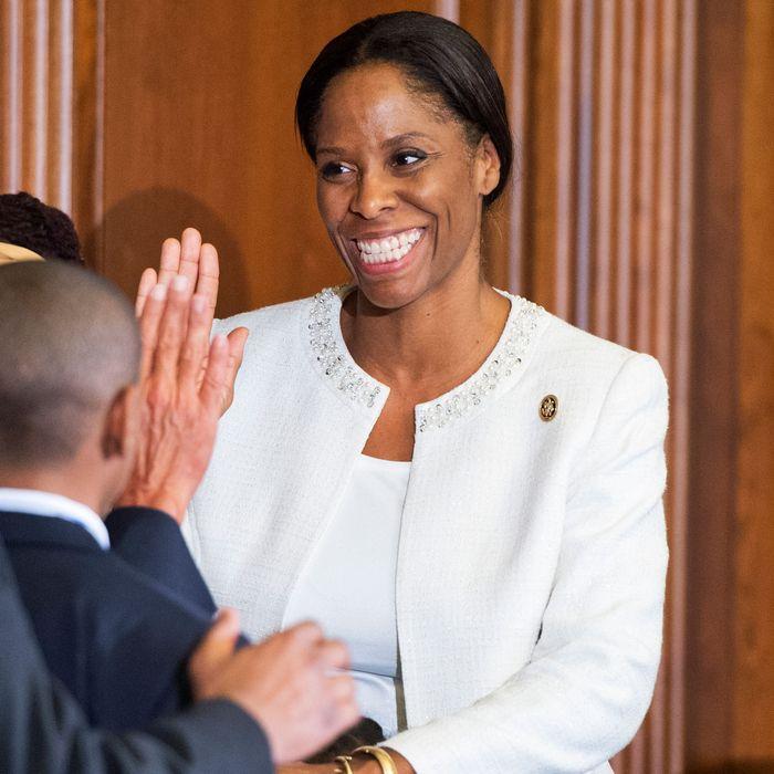 Representative Stacey Plaskett.