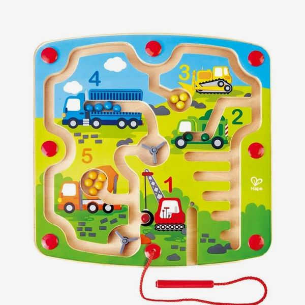 Construction & Number Maze Magnetic Puzzle