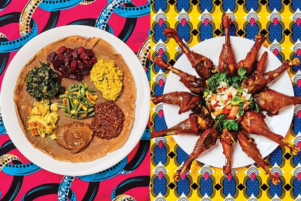 New African Food Restaurant In Parker