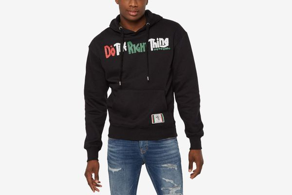 Rue 21 'Do The Right Thing' Black Script Hoodie