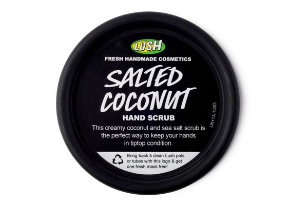 Lush Salted Coconut Hand Scrub
