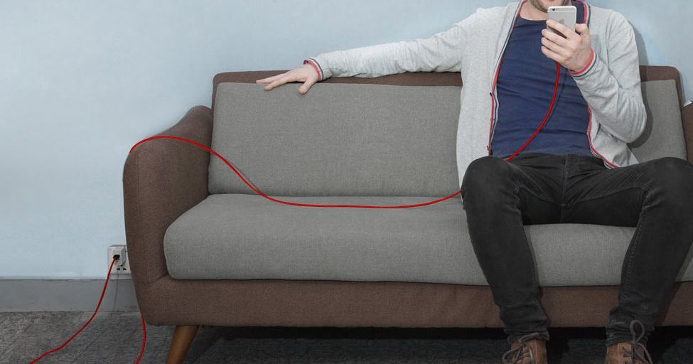 This Comically Long Phone Charger Is Almost Indestructible